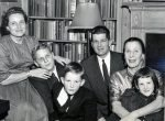 Bill and family in NYC - 1954