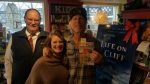 Signing event at Bridgeside Books - Waterbury, VT